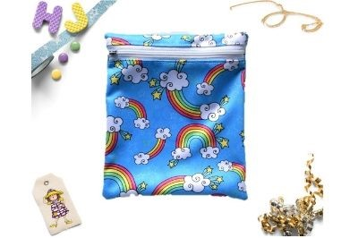Click to order  Sandwich Bag Rainbows PUL now